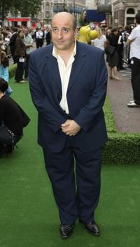 Omid Djalili at the UK premiere of