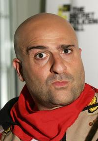 Omid Djalili at the Secret Policeman's Ball.
