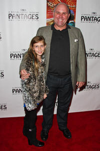 James DuMont and Guest at the opening night of