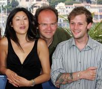 Mai Anh Le, Jean-Pierre Ameris and Nicolas Duvauchelle at the photo call of the
