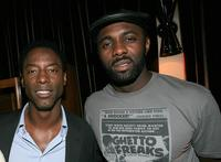 Isaiah Washington and Idris Elba at the Chris