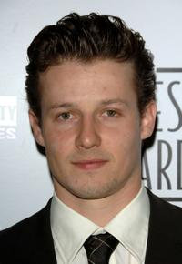 Will Estes at the 21st Genesis Awards.