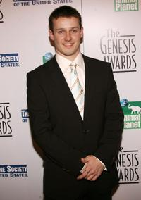 Will Estes at the 20th Anniversary Genesis Awards.