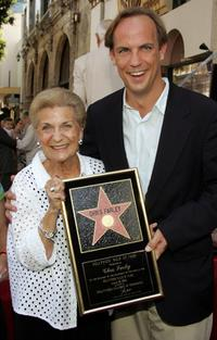 Mary Anne Farley and John Farley at the Hollywood Walk of Fame Star ceremony for actor Chris Farley.