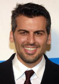 Oded Fehr at the 12th Annual Cool Comedy Hot Cuisine event.