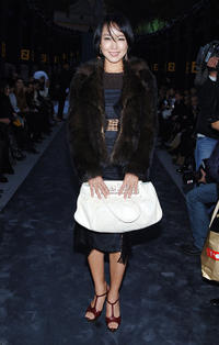 Jeon Do-yeon at the FENDI Great Wall Of China Fashion Show in Beijing.