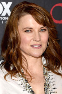 Lucy Lawless during Comic-Con International 2015 in San Diego, California.