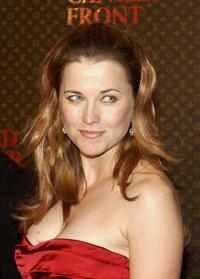 Lucy Lawless at the Louis Vuitton United Cancer Front Gala.