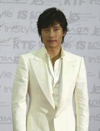 Lee Byung-Hun at the 42nd annual Paek Sang Art Awards.