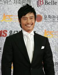 Lee Byung-Hun at the 43rd annual Paek Sang Art Awards.