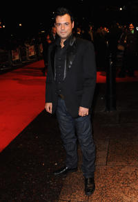Emil Marwa at the premiere of
