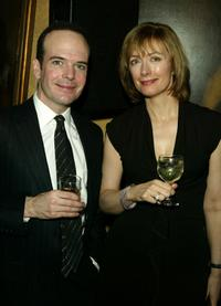 Jefferson Mays and wife at the 90th Anniversary of Actors Equity.