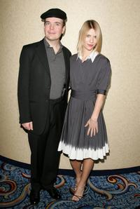 Jefferson Mays and Claire Danes at the Motion Picture Club's 67th Annual Awards luncheon.