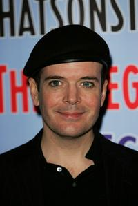 Jefferson Mays at the press launch of Theatregoers' Choice Awards.
