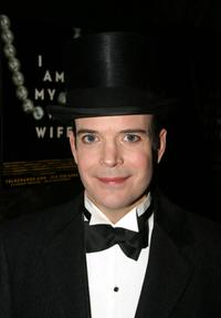 Jefferson Mays at the after party of the opening of