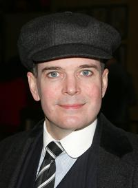 Jefferson Mays at the after party of the opening night of