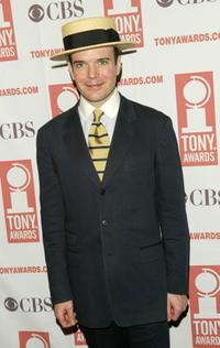 Jefferson Mays at the 2004 Tony Awards Nominees Press Reception.