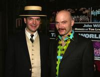 Jefferson Mays and Michael Cerveris at the 60th Annual Theater World Awards.