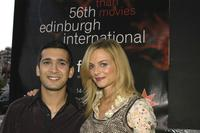 Jimi Mistry and Heather Graham at the premiere of