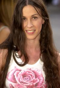 Alanis Morissette at the premiere of