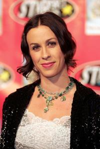 Alanis Morissette at the