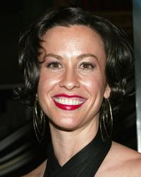 Alanis Morissette at the New York premiere of