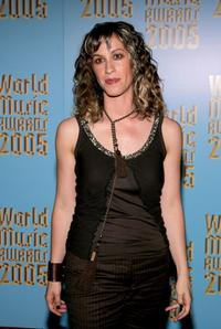 Alanis Morissette at the 2005 World Music Awards.