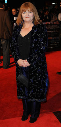 Lesley Nicol at the premiere of