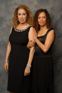 Roma Maffia and Erica Gimpel at the 10th Annual Costume Designers Guild Awards.