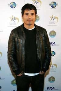Michael Pena at the benefit dinner and concert for Project Restart and the New York Rescue Workers Detoxification Project.