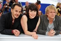 Fabrizio Rongione, Arta Dobroshi and Jeremie Renier at the photocall of