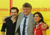 Stefano Accorsi, director Carlo Mazzacurati and Maya Sansa at the photocall of