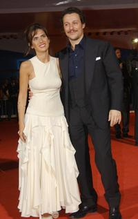 Maya Sansa and Stefano Accorsi at the premiere of