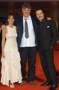 Maya Sansa, Director Carlo Mazzacurati and Stefano Accorsi at the premiere of