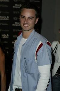 Kerr Smith at the Rock And Republic Collection Spring 2005 show during the Mercedes-Benz Fashion Week.