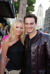 Harmony Everet and Kerr Smith at the premiere of
