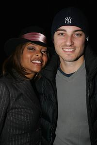 Taraji Henson and Kerr Smith at the William Morris Agency party during the Sundance film festival.
