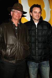 Rick Smith and Kerr Smith at the premiere of