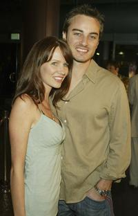 Kerr Smith and his wife Harmoni Everett at the premiere of