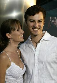 Kerr Smith and guest at the Los Angeles premiere of