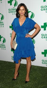 Leonor Varela at the Global Green USA's 5th annual awards season celebration.