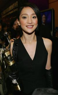 Zhou Xun at the 25th Hong Kong Film Awards.