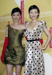 Zhou Xun and Zhang Ziyi at the photocall of