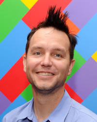 Mark Hoppus at the New York premiere of