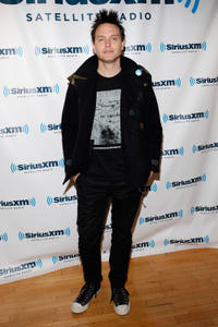 Mark Hoppus at the SiriusXM Studio in New York.