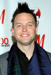Mark Hoppus at the Z100's Jingle Ball 2010 in New York.
