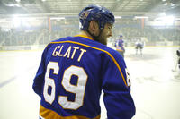 Seann William Scott as Doug Glatt in ``Goon.''