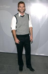 Seann William Scott at the Francisco Costa's Spring 2007 Calvin Klein Collection for Women after party.
