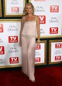 Rebecca Romijn at the TV Guide's 5th Annual Emmy Party.