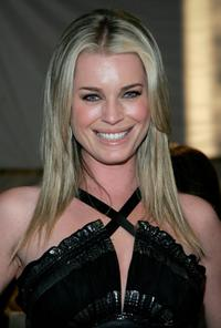 Rebecca Romijn at the Collection Bebe Fall 2007 fashion show during the Mercedes Benz Fashion Week.